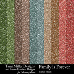 Family is Forever Glitter Sheets Pack-$4.99 (Tami Miller)