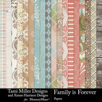Family is Forever Paper Pack-$4.99 (Tami Miller)
