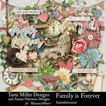 Family is Forever Embellishment Pack-$4.99 (Tami Miller)