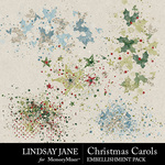 Christmas Carols LJ Scatterz Pack-$2.49 (Lindsay Jane)