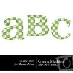 Green Machine Alphabet Pack-$0.99 (Karen Lewis)