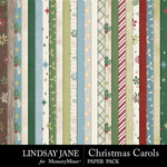 Christmas Carols LJ Paper Pack-$2.99 (Lindsay Jane)