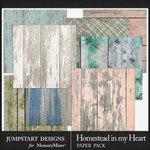 Homestead in My Heart Wood Paper Pack-$2.99 (Jumpstart Designs)