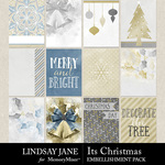 Its Christmas Journal Cards Pack-$2.49 (Lindsay Jane)