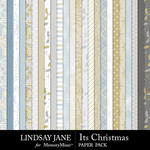 Its Christmas Paper Pack-$2.99 (Lindsay Jane)