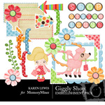 Giggly Shop Hop Embellishment Pack-$2.99 (Karen Lewis)