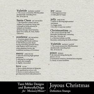 Joyous christmas definitions medium