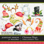 Christmas Magic Dress Up Pack-$2.80 (Jumpstart Designs)