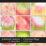 Christmas Magic Blended Paper Pack-$2.80 (Jumpstart Designs)