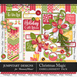 Christmas Magic Add On Pack-$2.80 (Jumpstart Designs)