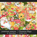 Christmas Magic Combo Pack-$6.29 (Jumpstart Designs)
