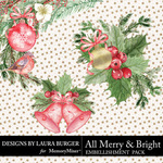 All Merry and Bright Extras Pack-$2.80 (Laura Burger)