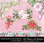 All Merry and Bright Cluster Pack-$4.19 (Laura Burger)