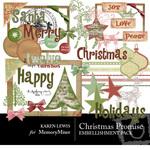 Christmas Promise Embellishment Pack-$1.50 (Karen Lewis)