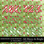 All Merry and Bright Alphabet Pack-$2.80 (Laura Burger)