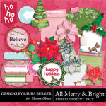 All Merry and Bright Journal Pack-$4.99 (Laura Burger)