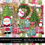 All Merry and Bright Combo Pack-$6.29 (Laura Burger)