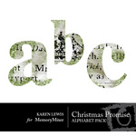 Christmas Promise Alphabet Pack-$0.99 (Karen Lewis)