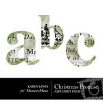 Christmas Promise Alphabet Pack-$0.50 (Karen Lewis)