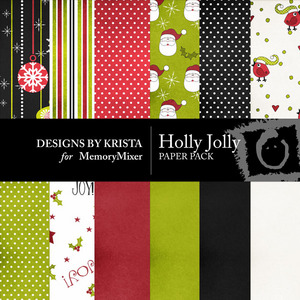 Holly jolly paper prev medium