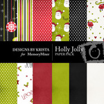 Holly Jolly Paper Pack-$2.99 (Designs by Krista)