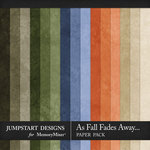 As Fall Fades Away Plain Paper Pack-$2.80 (Jumpstart Designs)