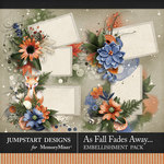 As Fall Fades Away Frame Clusters Pack-$2.80 (Jumpstart Designs)