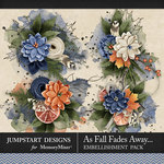 As Fall Fades Away Art Clusters Pack-$2.80 (Jumpstart Designs)