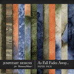As Fall Fades Away Blended Paper Pack-$2.80 (Jumpstart Designs)