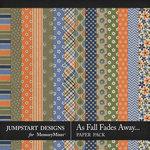 As Fall Fades Away Pattern Paper Pack-$2.80 (Jumpstart Designs)