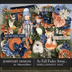As Fall Fades Away Embellishment Pack-$3.50 (Jumpstart Designs)