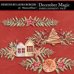 December Magic Border Pack-$3.50 (Laura Burger)