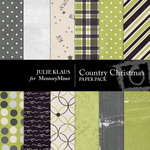 Country Christmas Paper Pack-$4.00 (Julie Klaus)