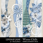 Winter Chills Borders Pack-$2.49 (Lindsay Jane)