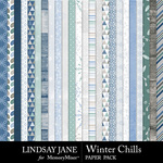 Winter Chills Paper Pack-$2.49 (Lindsay Jane)