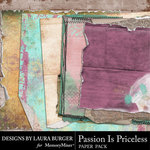 Passion Is Priceless Shabby Paper Pack-$5.99 (Laura Burger)