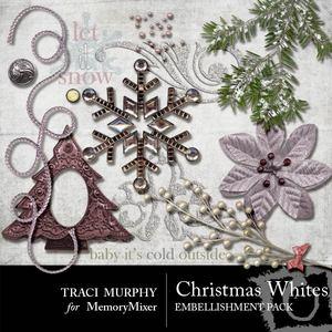 Tracimurphy christmaswhites elements medium