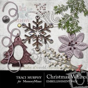 Tracimurphy christmaswhites elements medium