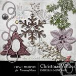 Christmas Whites Embellishment Pack-$3.00 (Traci Murphy)