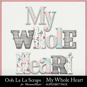 My whole heart alphabets medium