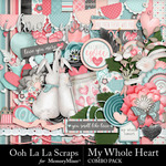 My Whole Heart Combo Pack-$4.99 (Ooh La La Scraps)