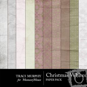 Tracimurphy christmaswhites papers medium