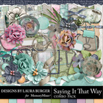 Saying it That Way Combo Pack-$8.99 (Laura Burger)