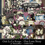 Our Love Story Combo Pack-$4.99 (Ooh La La Scraps)