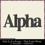 Our love story kit alpha small