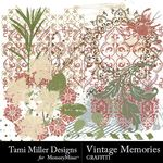 Vintage Memories TM Graffiti Pack-$3.49 (Tami Miller)