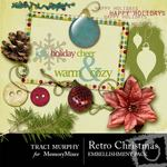 Retro Christmas Embellishment Pack-$3.00 (Traci Murphy)