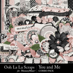 You and Me OLL Combo Pack-$4.99 (Ooh La La Scraps)