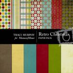 Retro Christmas Paper Pack-$3.99 (Traci Murphy)