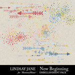 New Beginning LJ Scatterz Pack-$2.49 (Lindsay Jane)